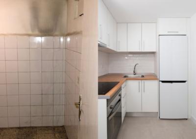 Reforma integral de vivienda en Héroe de Sostoa 85, Málaga